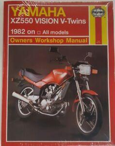 HAYNES MANUAL 821 >>> Yamaha XZ550 VISION V - TWINS 1982 on