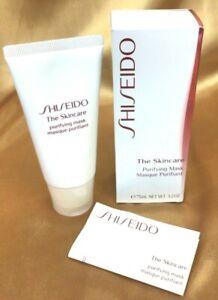 Shiseido The Skincare Purifying Mask FULL SIZE 75 ml./ 3.2 oz. New in Box!