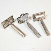 vintage Ever-Ready safety razors lot of 3 Classic Antique