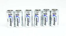 6  - Energizer CR123 3V Lithium Batteries 3Volt   (Bulk Packaged) Made in USA