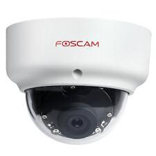 Foscam FI9961EP 1080p P2P PoE Waterproof Security Dome IP Camera - White