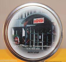 Märklin 98027 Vagón especial para apertura del Museo 5 6. Mayo 2001 Z en la