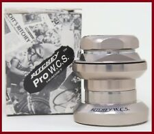 NOS NIB RITCHEY LOGIC WCS 1+1/8 INCH HEADSET MTB THREADED TANGE 90S VINTAGE OLD