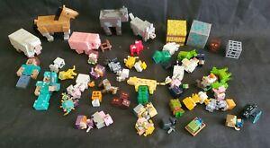 Minecraft Action Figure Large Lot Authentic
