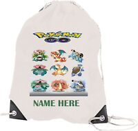 CATCH A POKEMON GO PERSONALISED GYM/DANCE/SWIMMING/P.E./YOGA BAG