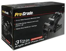 "3-1/2"" Angle Drill Press Vise, Adjustable, Durable cast Iron, Pro Grade 59121"