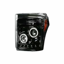 RECON 264272BKCC Ford Superduty 11-16 Clear-Smoked Headlights Projector