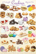 THE COOKIES POSTER 31 Classic Treats POSTER For Restaurant, Coffee Shop, Bakery