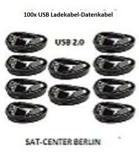 100x Micro USB Kabel Ladekabel~USB 2.0~1m Datenkabel Samsung~HTC~Nokia~ Schwarz