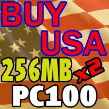 PC100 256MB X 2 512 RAM Memory DELL XPS T450 T550 T500