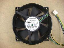 EVERFLOW F129025SU 90/80mm x25mm CPU Round Fan 12V 4Pin 0.38A  #M585 QL