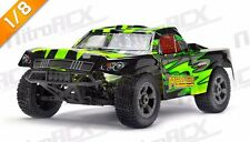 Iron Track MegaE8SCL Mayhem 1/8 ARTR 4WD Brushless Short Course RC Truck - Green