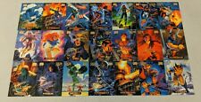 Marvel Masterpieces 1994 Gold Foil Signatures Lot of 21 Cards (Fleer Corp)