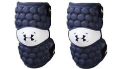 Under Armour Ua Vftpapm-L-Ryl Vft Lacrosse Lax Arm Guards Pads Large Royal Blue