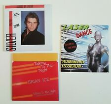 "•• ITALO DISCO - SPECIAL OFFER •• LASERDANCE, POZZOLI, BRIAN ICE ▬ LOT 3x 12"" CD"