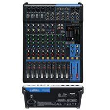 YAMAHA MG12XU mixer audio 12canali professionale USB effetti studio karaoke live