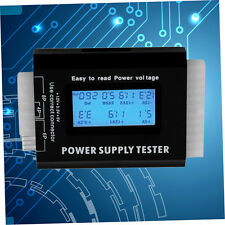 Digital LCD PC Computer PC Power Supply Tester 20/24 Pin SATA HDD Testers YH