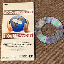 "MICHAEL JACKSON Heal The World-1st edition(No tour logo) JAPAN 3"" CD ESDA7118"