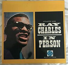 RARE!! M- LP RAY CHARLES In Person, 1960 Label Atlantic 8039