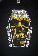 Death Breath T- Shirt Hellacopters Entombed Nihilist Grave Unleashed Necrony