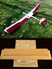 "135""wing span Durex V R/c Glider short kit/semi kit and plans"