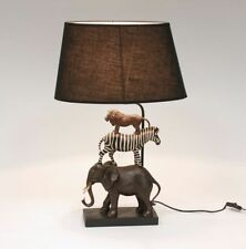 Fabric Animal Table Lamps
