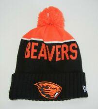 New Era OREGON STATE OSU BEAVERS Black COLLEGE BEANIE Warm Ski Winter Hat Cap