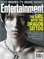 Entertainment Weekly Magazine The Girl With The Dragon Tattoo Csi Downton Abbey