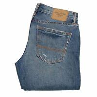 21256 Abercrombie & Fitch Skinny Compatible Avec Hommes Jeans Bleu Sz 30/32