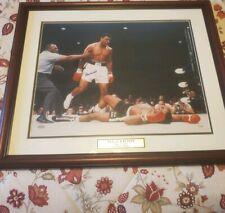 Mohammed Ali Signed Framed 16×20