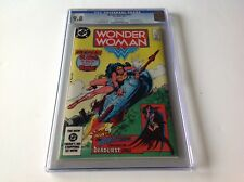 WONDER WOMAN 319 CGC 9.8 WHITE PAGES HUNTRESS DR CYBER COOL COVER DC COMICS
