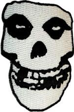 The Misfits - Crimson Ghost Skull - Embroidered Iron or Sew On Patch / Badge
