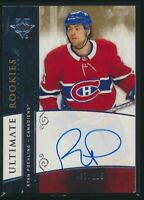2019-20 Upper Deck Ultimate Collection Retro Rookie Auto Ryan Poehling /125
