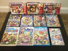 Mario party lot, CIB with manuals, Nintendo 64, gamecube, Wii, Switch, tested