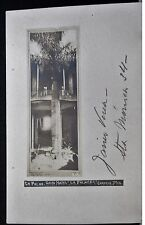 "Gran Hotel ""La Palmera"" Chapala, 1900-10s JALISCO MEXICO Real Photo PC"