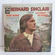 BERNARD SINCLAIR Rose Marie / le chant du désert 2C015 11310 Dédicacé derriere