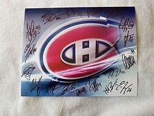 11/12 Hamilton Bulldogs Team Auto Photo w/ Andreas Engqvist Montreal Canadiens