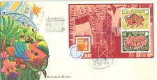 S'pore MS on cover Year of the Ox Hong Kong'97