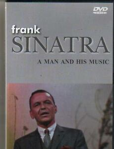 NEW DVD - FRANK SINATRA - A MAN AND HIS MUSIC 18 SONGS CONCERT