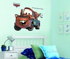 XL PIXAR CARS MATER RAGAZZI Vivaio Adesivi da parete enorme 90 x 60 cm foglio
