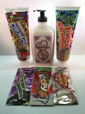 DEVOTED CREATIONS BERRY TAN CRUNCH LUCKY Tanning Bed Lotion LOT of 6 RETAIL $72C
