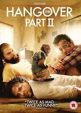 HANGOVER 2 DVD Zach Galifianakis Bradley Coope Todd Phillips UK Release New R2