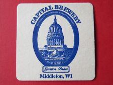 BEER COASTER: CAPITAL Brewery Garten Brau ~ Middleton, WISCONSIN ~ Since 1986