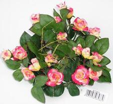 "Kranz ""Calvia"" 18cm grün/pink/gelb Kerzenring Kunstblumen Dekoration"