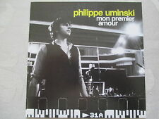 Philippe Uminski-MON PREMIER AMOUR-cardsleeve single Promo CD (1 TRACK)