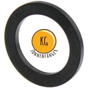 10 Stück Gummi-Dichtung für Überwurfmuttern FLACHDICHTUNG 1/2 3/4 1 Zoll EPDM