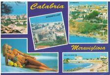 CALABRIA - VEDUTINE CIRELLA SANGINETO DONNA IN BIKINI VG 95