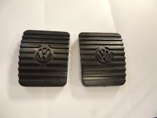 VW Pedal Pads Oem NOS Volkswagen ALL BUGS 75-79 BEETLES-SUPERS NEW 2PCS #5AVW