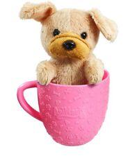 Animagic Tea Cup Pets - Brown Pug Puppy