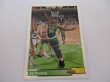 Carte NBA UPPER DECK 1992-93 FR #106 Ed Pinckney Boston Celtics